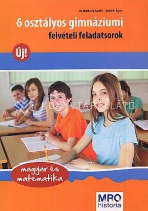 Kép: 6 osztályos gimnázium felvételi feladatsorok - Magyar, matematika