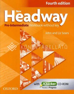 Kép: New Headway Pre-Intermediate Fourth edition Workbook without key with iChecker CD-ROM