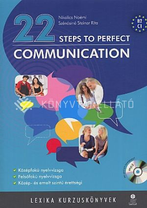 Kép: 22 steps to perfect communication lx0032