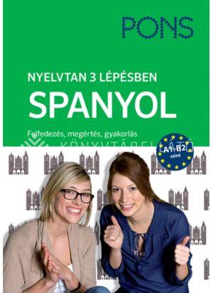 Kép: PONS Nyelvtan 3 lépésben - Spanyol