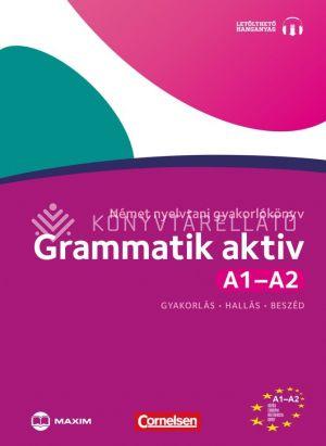 Kép: Grammatik aktiv - Német nyelvtani gyakorlókönyv A1-A2 (cd melléklettel)