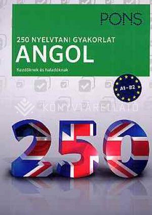 Kép: Pons 250 nyelvtani gyakorlat angol