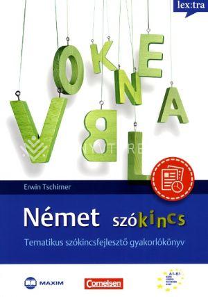 Kép: Német szókincs - Tematikus szókincsfejlesztő gyakorlókönyv