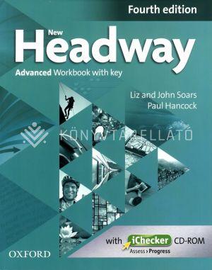 Kép: New Headway Advanced 4E Workbook and Ichecker With Key
