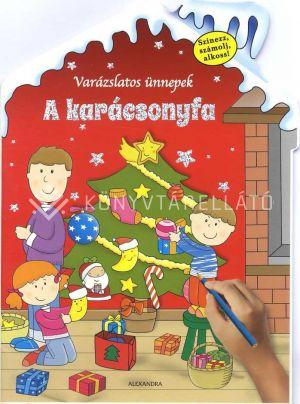 Kép: A karácsonyfa - Színezz, számolj, alkoss!
