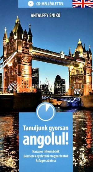 Kép: Tanuljunk gyorsan angolul CD-melléklet