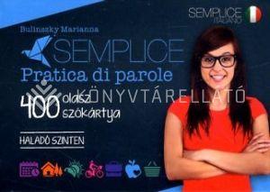 Kép: Semplice pratica di parole - 400 olasz szókártya (Haladó szinten)