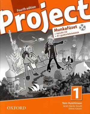 Kép: Project Fourth edition Munkafüzet 1 + tanulói CD