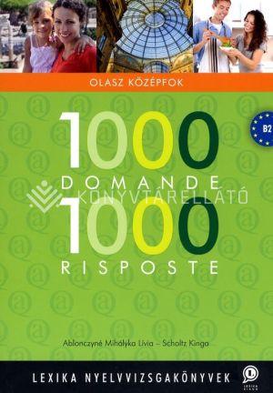 Kép: 1000 Domande 1000 Risposte -  olasz középfok